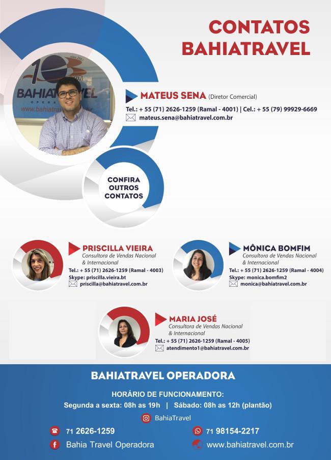 Bahiatravel - Nossa Equipe